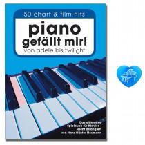Piano gefällt mir! Band 1 mit bunter herzförmiger Notenklammer