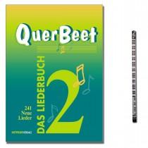 Das Liederbuch QuerBeet Band 2 mit Musik-Bleistift