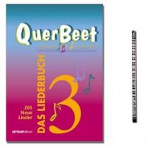 Das Liederbuch QuerBeet Band 3 mit Musik-Bleistift