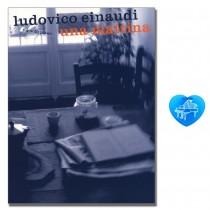 Ludovico Einaudi Una Mattina for solo piano mit bunter herzförmiger Notenklammer