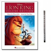 The Lion King - Deluxe Edition mit Musik-Bleistift Hal Leonard 9781458421173