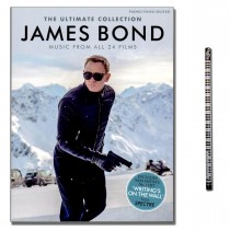 James Bond: The Ultimate Collection mit Musik-Bleistift - AM1011307 - 9781785582028