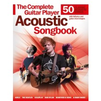 The Complete Guitar Player: Acoustic Songbook mit DUNLOP PLEKTRUM