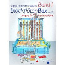 Blockflötenbox Band 1 mit 2 CDs