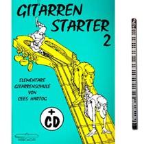 Gitarrenstarter Band 2 (mit CD) von Hartog Cees mit Musik-Bleistift