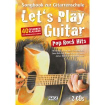 Let's Play Guitar - Pop Rock Hits mit 2CD's