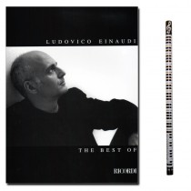 Ludovico Einaudi The Best of mit Piano-Bleistift