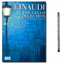 Ludovico Einaudi: The Cello Collection mit Piano-Bleistift