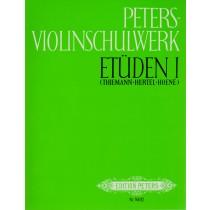 Peters-Violinschulwerk Etüden Band 1