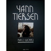 Yann Tiersen PIANO WORKS mit bunter herzförmiger Notenklammer