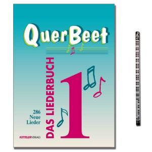 Das Liederbuch QuerBeet Band 1 mit Musik-Bleistift