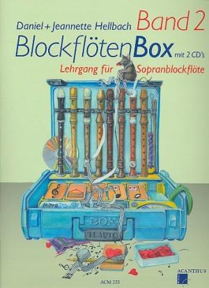Blockflötenbox Band 2 mit 2 CDs