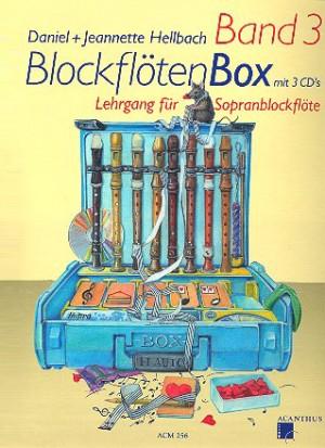 Blockflötenbox Band 3 mit 2 CDs