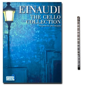 Ludovico Einaudi: The Cello Collection mit Piano-Bleistift