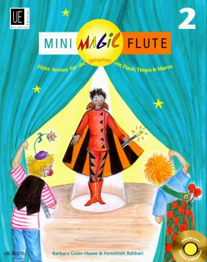 Mini Magic Flute Band 2 mit CD - UE35270 - 9783702470746