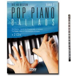 Die 40 besten Pop Piano Ballads Band 3